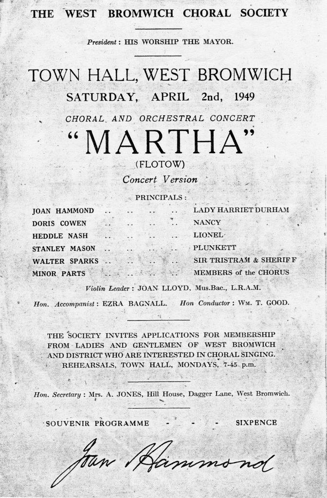 Martha concert