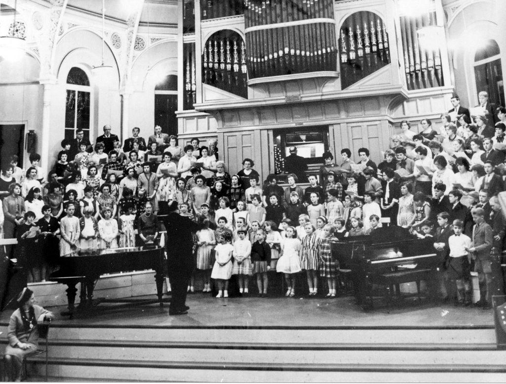 choir in town hall