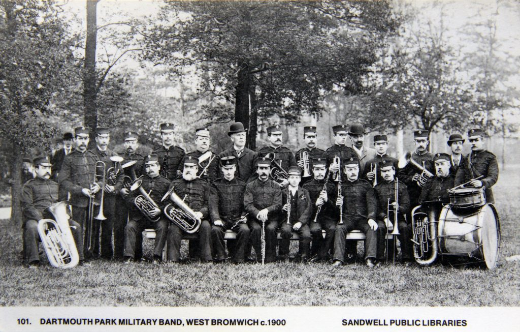 Dartmouth park band 1900
