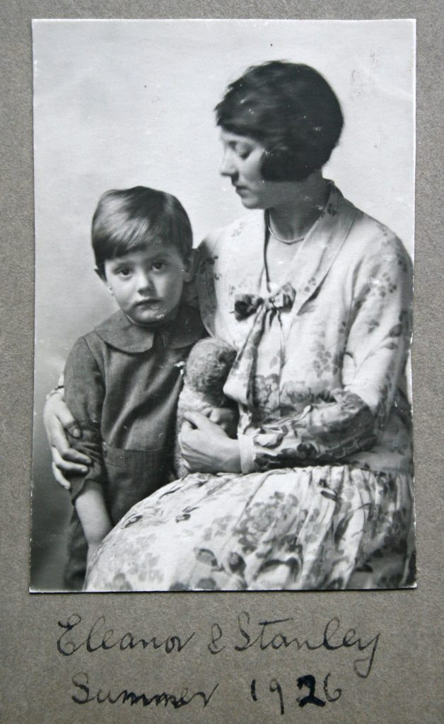 Stan and Eleanor , his mother, in 1926
