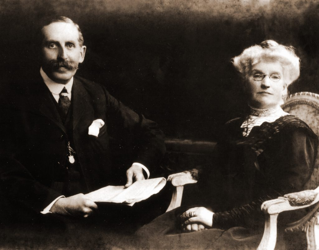 "Mr and Mrs Adcock became Master and Matron in February 1896. They imposed a humanitarian regime ""making homelike conditions for the deserving poor""."