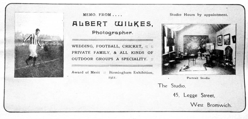 Albert Wilkes Calling Card