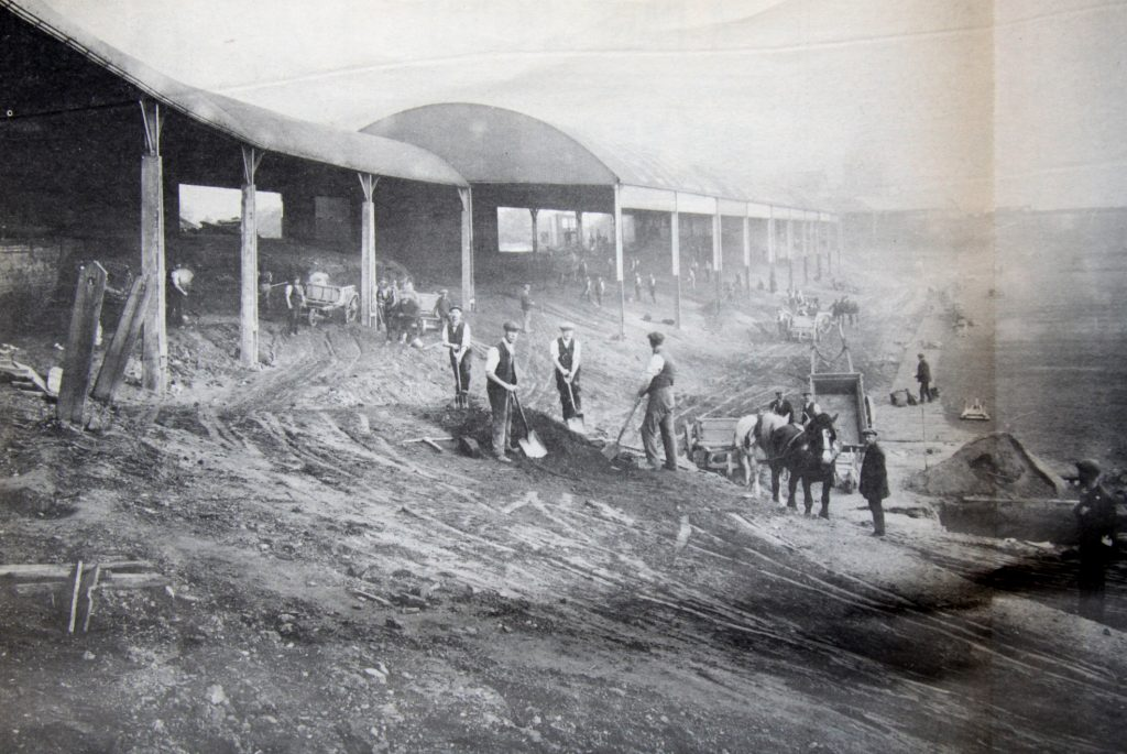 Albert Wilkes Villa ground 1900