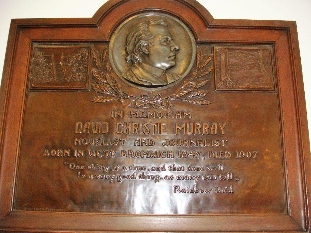 david-c-murray-plaque